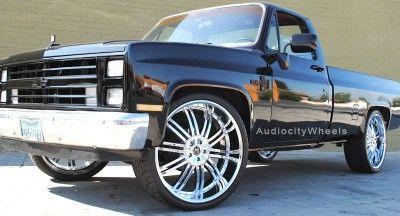 24 inch Wheels Rims Chevy Ford escalade GMC QX56,Nissan