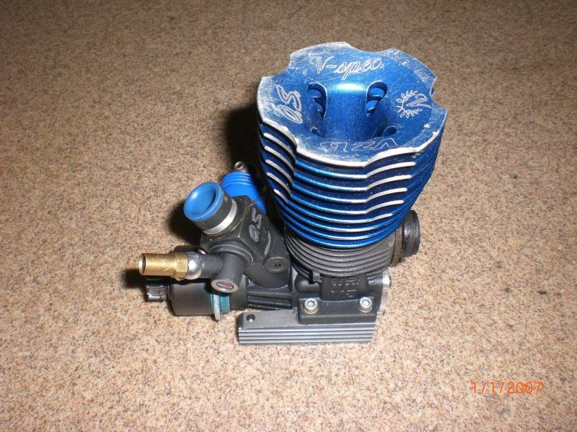 Spec B Racing Engine w/21C Slide Carb 1/8 Losi 8ight rc Motor