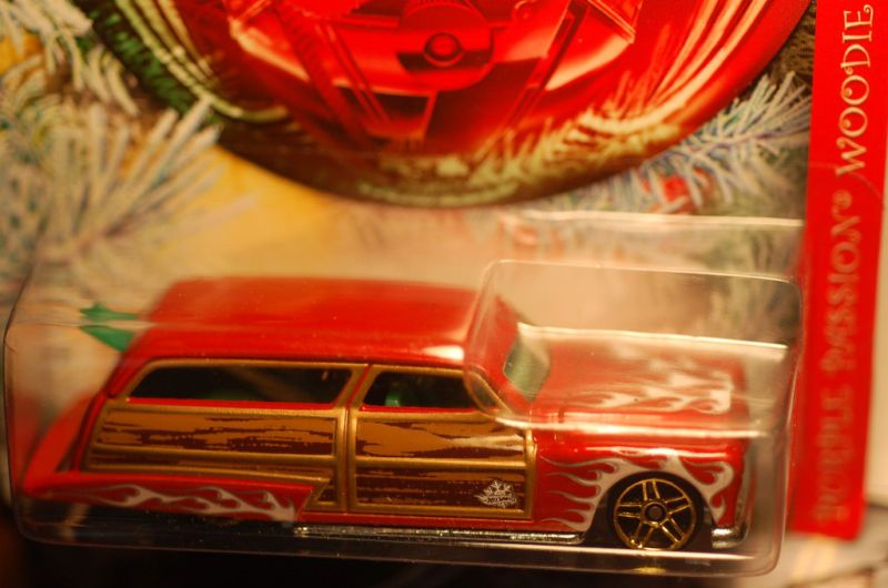 2010 Hot Wheels Holiday Hot Rods Purple Passion Woodie